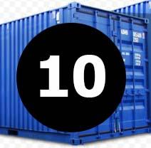 морские контейнера 10 футов