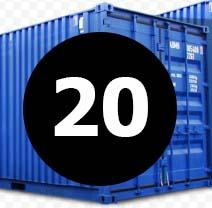 морские контейнера 20 футов