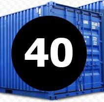 морские контейнера 40 футов