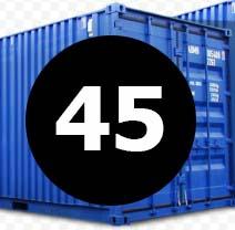 морские контейнера 45 футов