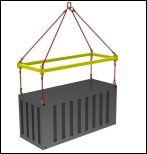 траверса для контейнеров ТРК