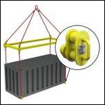 Траверса для контейнеров ТРК7